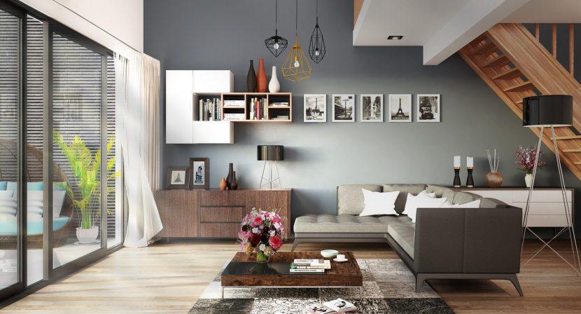 Salon décoré grâce aux conseils Feng Shui faciles
