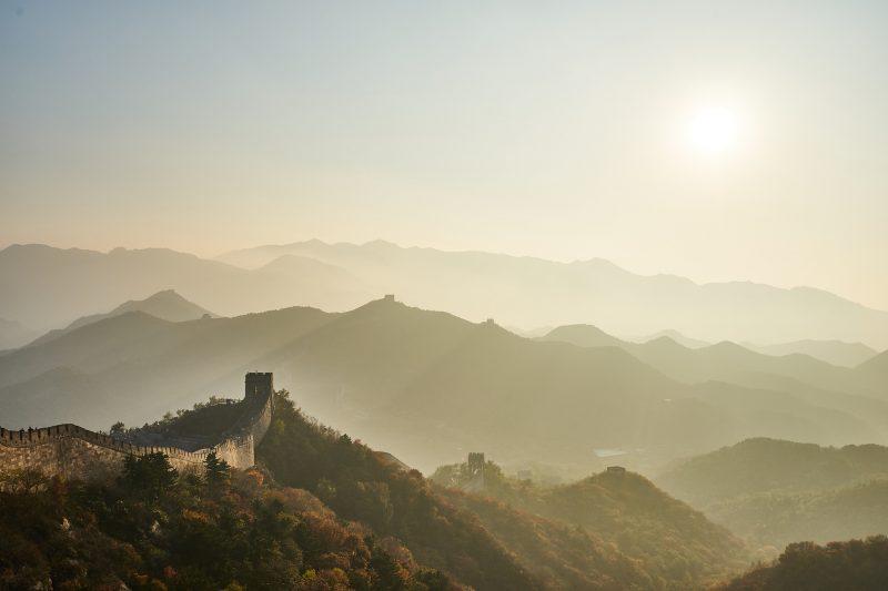 Grande Muraille de Chine construite selon le Feng Shui